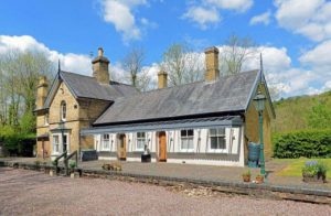 Property of the Week: 5 bedroom old railway station on the market for £950,000!