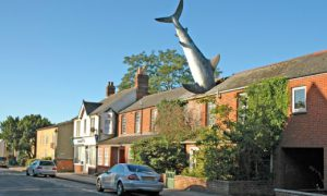 Property of the Week: An Oxford house with a shark in the roof!
