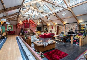 Property of the week: Eccentric carnival themed house with own bowling alley