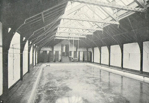 The building was used as a public bath in the late 1800s. (Via DailyMail)