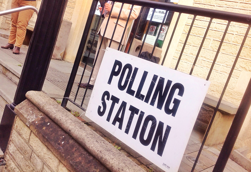 Polling Station in Hove